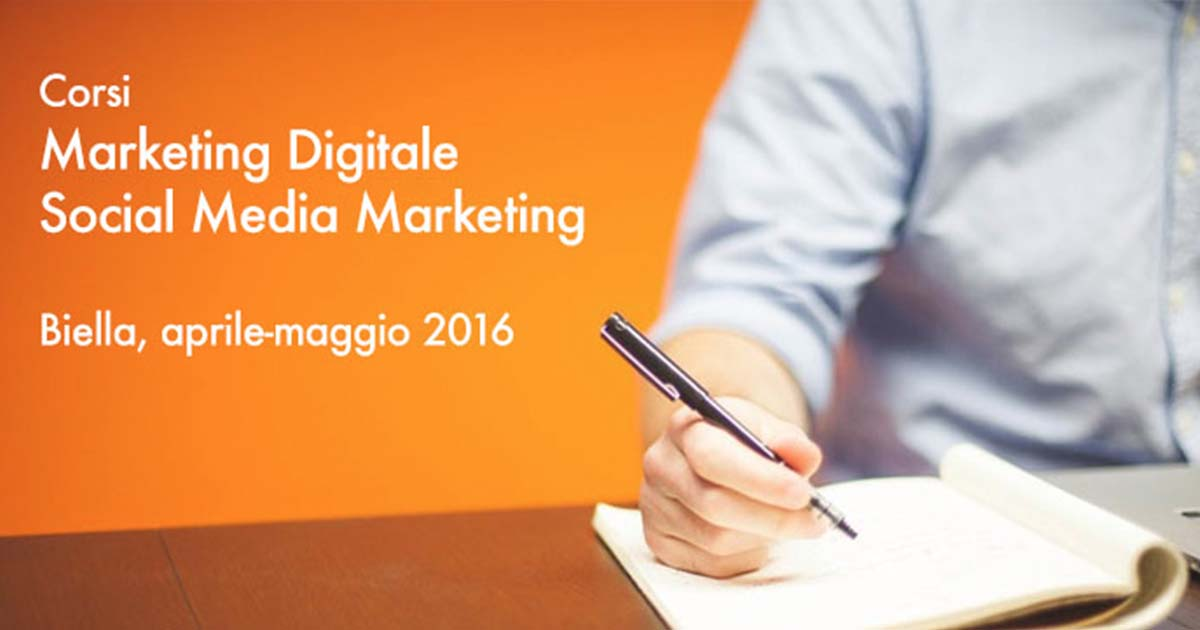 Corso Digital Marketing Biella