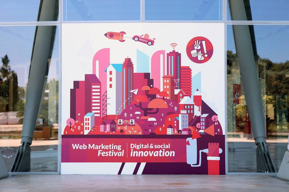 Cartoline dal Webmarketing Festival 2018