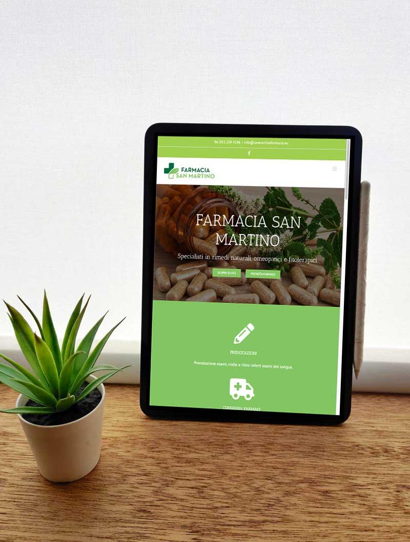 Farmacia San Martino sito web