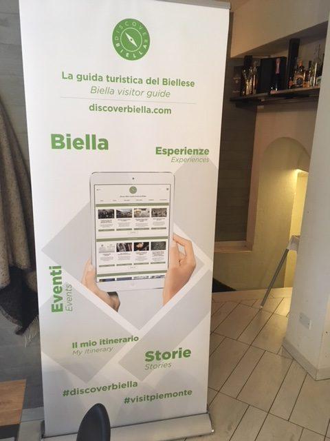 Grafica per Discover Biella