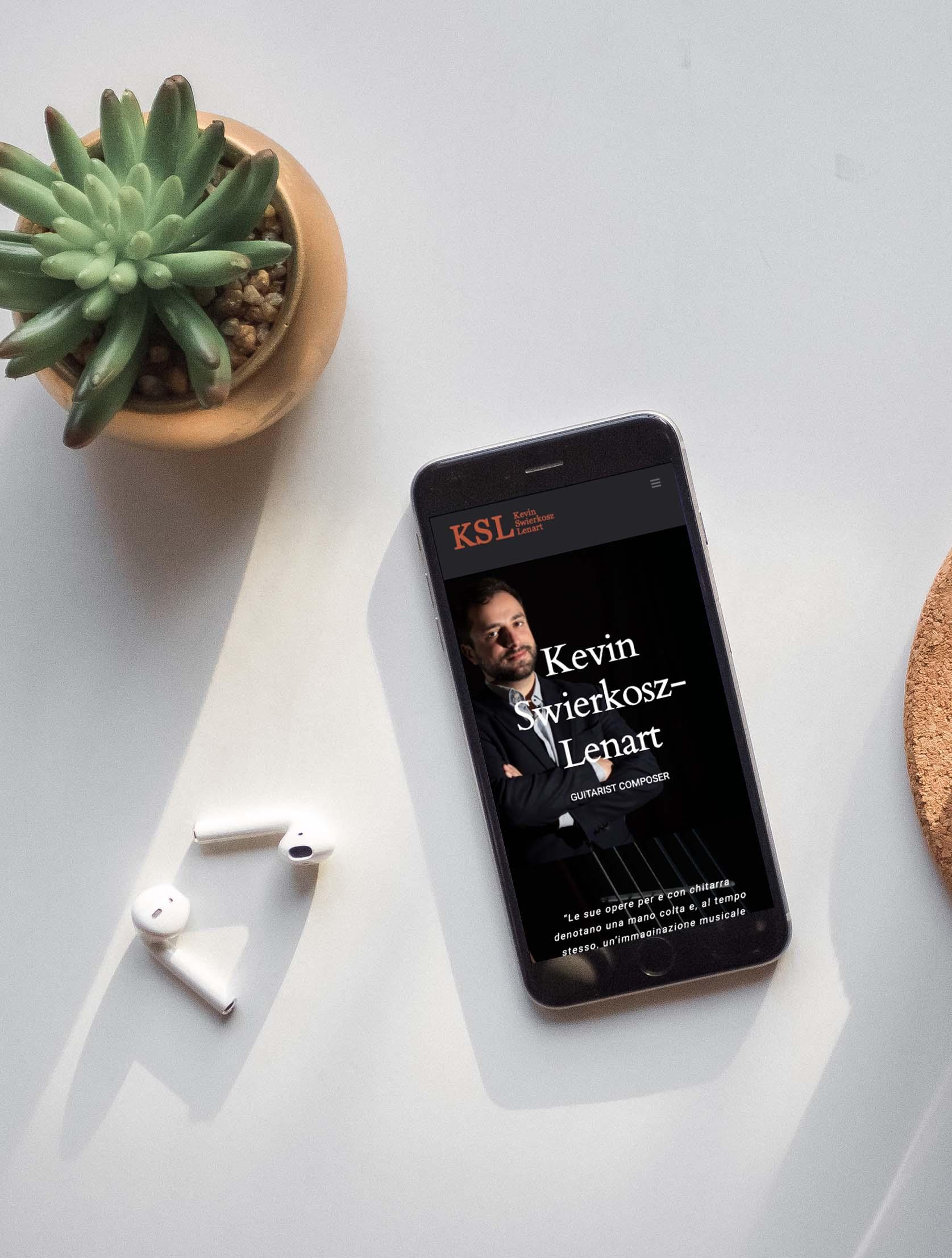 Sito mobile Kevin Swierkosz-Lenart