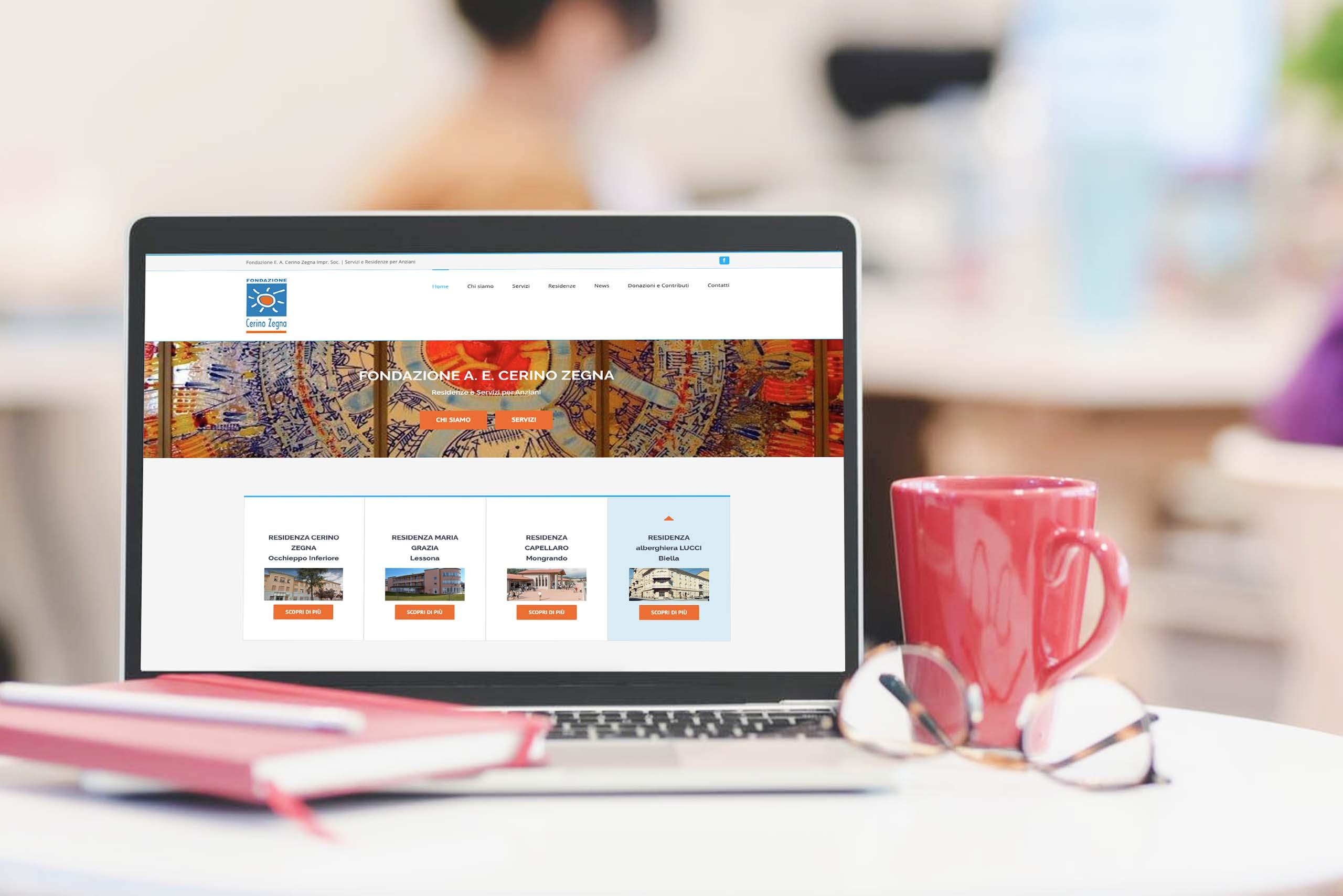 Fondazione Cerino zegna sito web