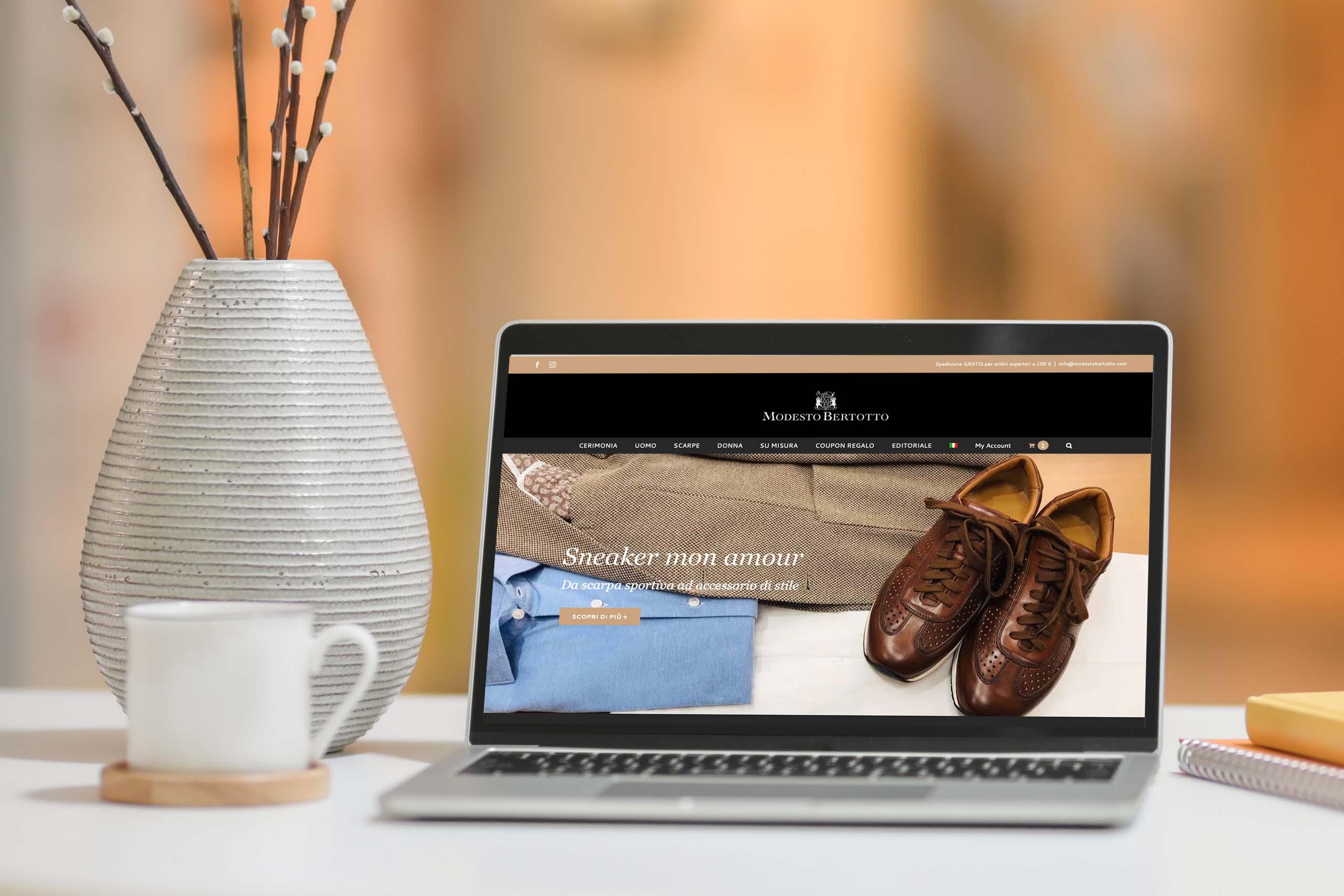 Modesto Bertotto sito web